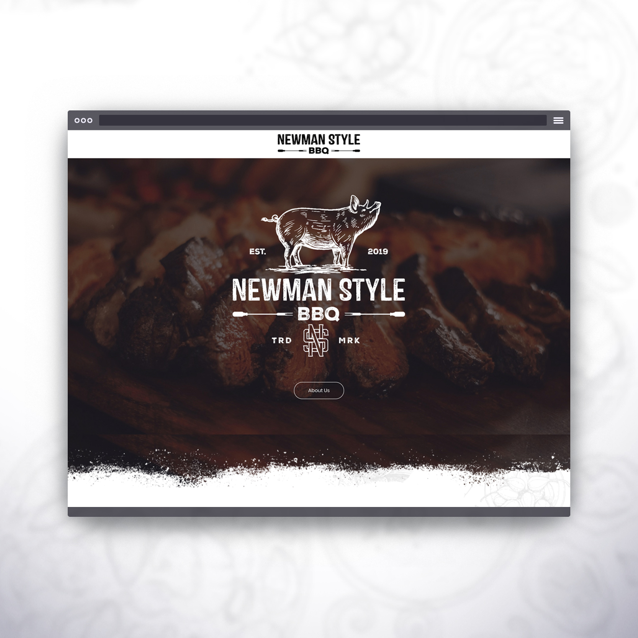 Browser Newman Style BBQ